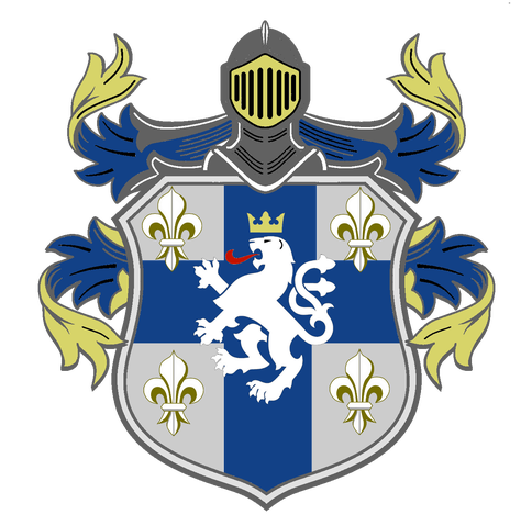 Vector securities medieval shield. Angelcraft crown world bank