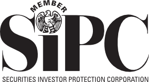Vector securities protection. Sipc logo and advertising