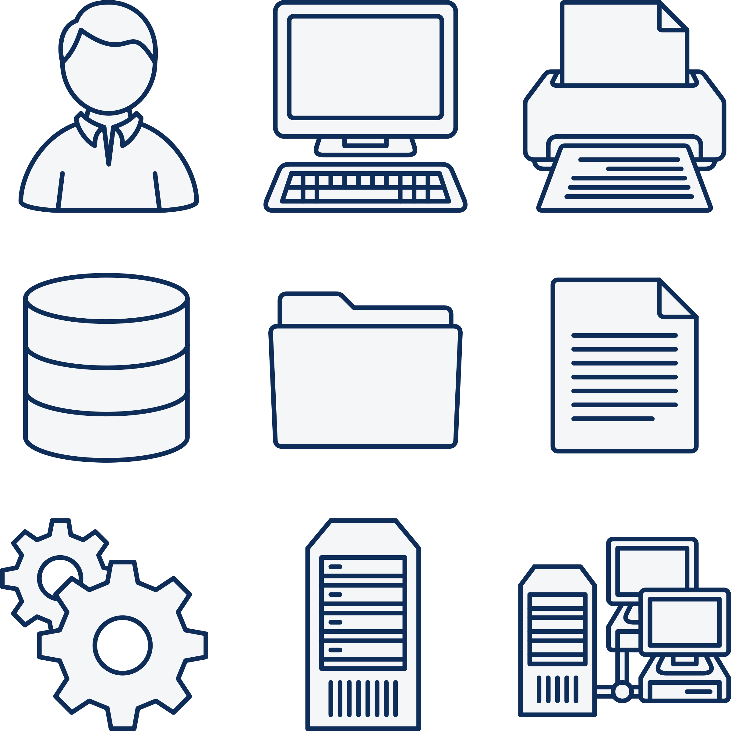 Vector set computer. Network icons png free