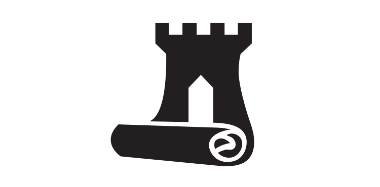Vector set symbol. Collectible card game headquarters