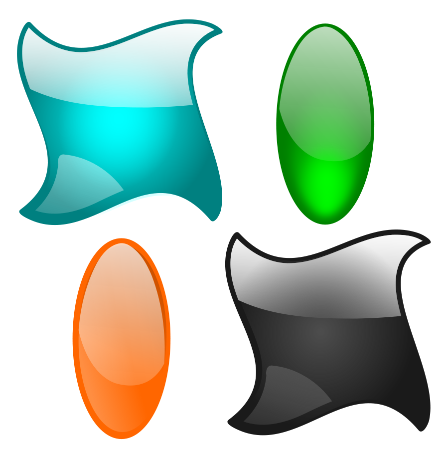Vector shapes design png. Graphic clipart images gallery