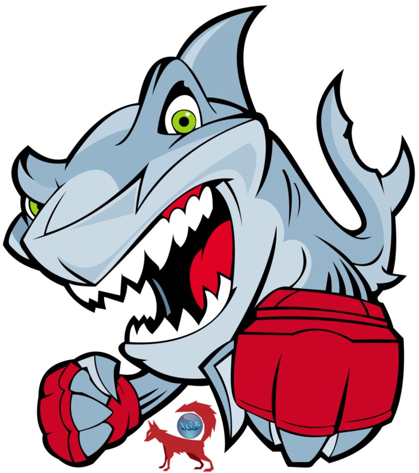 Vector sharks. Shark fighter by fokito