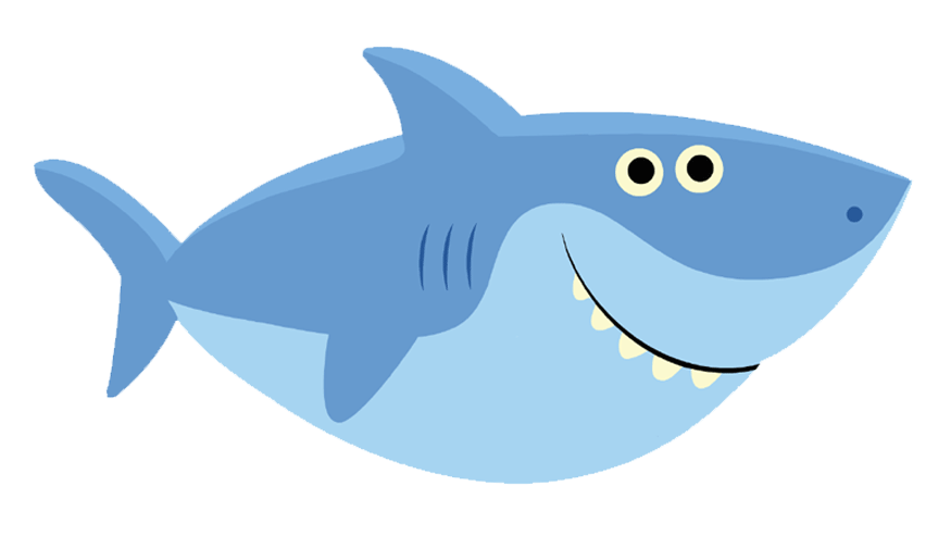 baby shark png thank you card