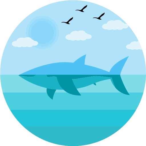 Vector sharks geometric. Shark icon png and