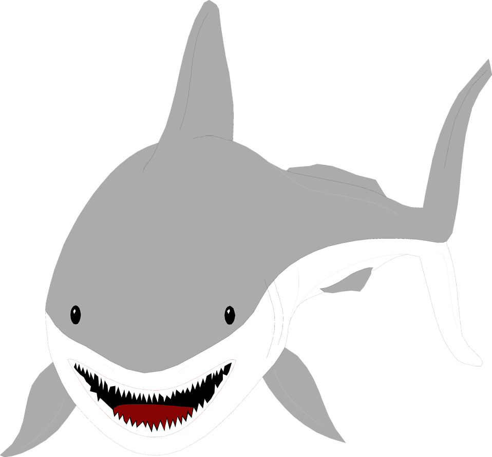 Vector sharks great white shark. Free stock photo illustration