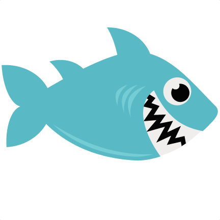 Vector sharks svg. Shark file for scrapbooking