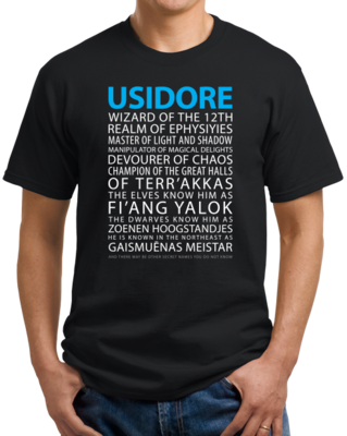 Vector shirts game throne. Magic tavern usidore t