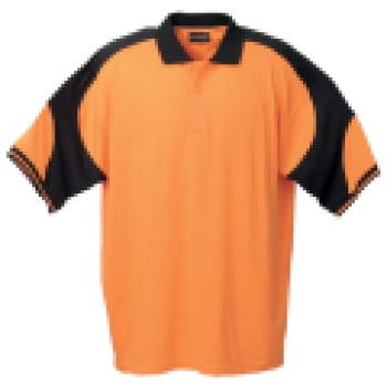 Vector shirts golfer. Golf shirt barron corporate