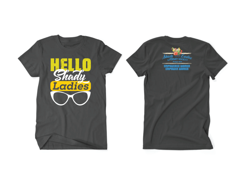 Vector shirts crew neck. Front and back t