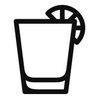 Vector shot. Tequila icons noun project