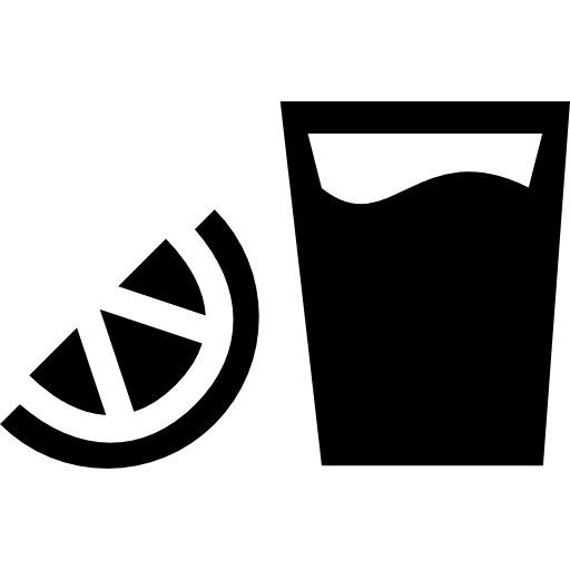Vector shot ice. Tequila mexico drink icons