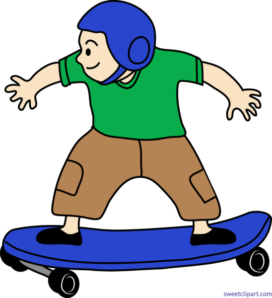 Vector skateboard royalty free. Download cool person