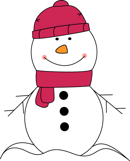 Vector snowman art. Clip transparent stock