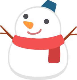 Vector snowman baby. Free png and picaboo