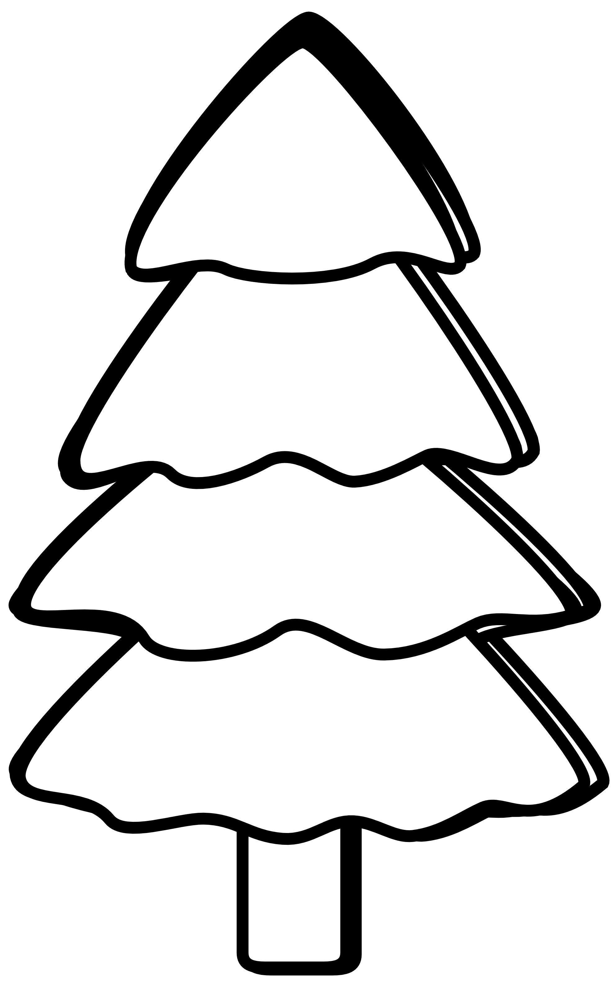 Vector snowman black and white. Scalable graphics svg xmas