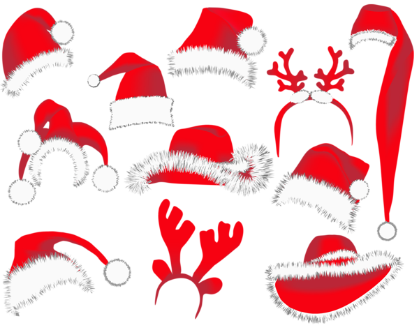 Vector snowman christmas. Hats png clipart picture