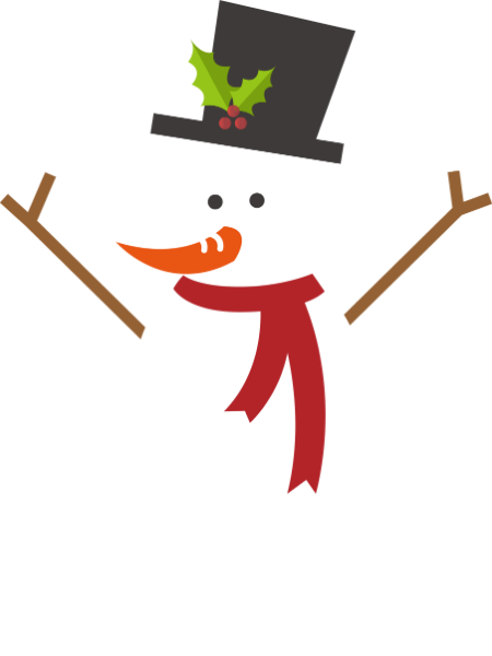 December png snowman. Free online christmas comic