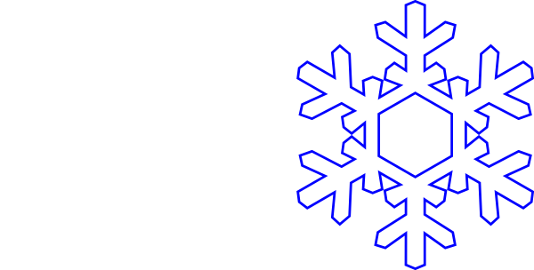 Vector snowman outline. Free snowflake download clip