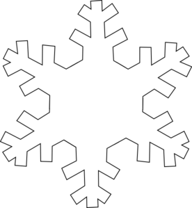 Vector snowman outline. Collection of free flaking