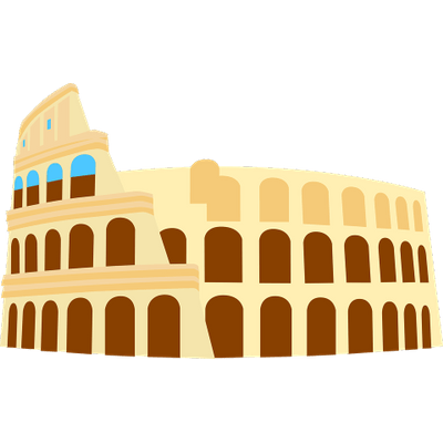 Vector solution shutterstock. Colosseum graphic icons pinterest