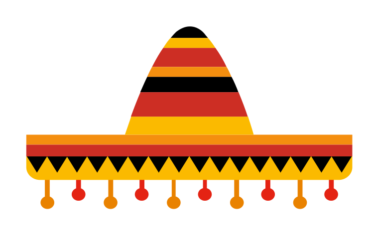 Vector sombrero transparent background. Final dave llc official