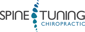 Vector spine. Tuning chiropractic logo svg