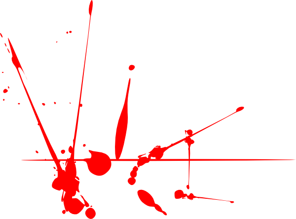 Vector splatters line. A collection of high