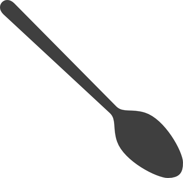 Vector spoon mixing. Clip art at clker