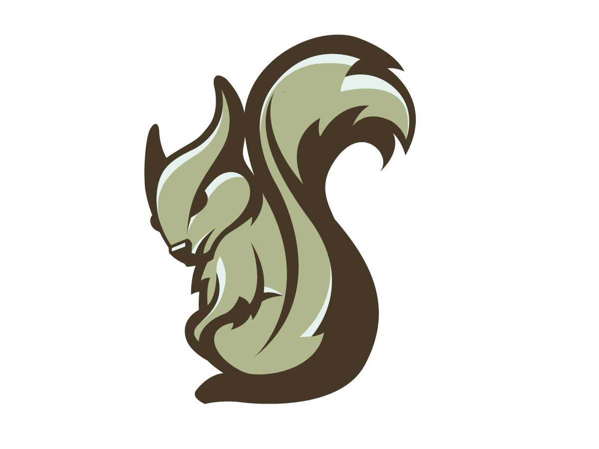 Vector squirrel mascot. Angry on behance cool