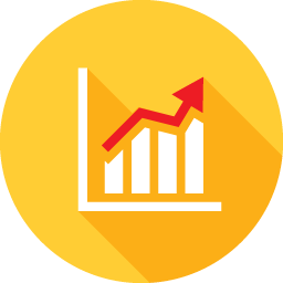 Vector statistics flat. Free icon download png