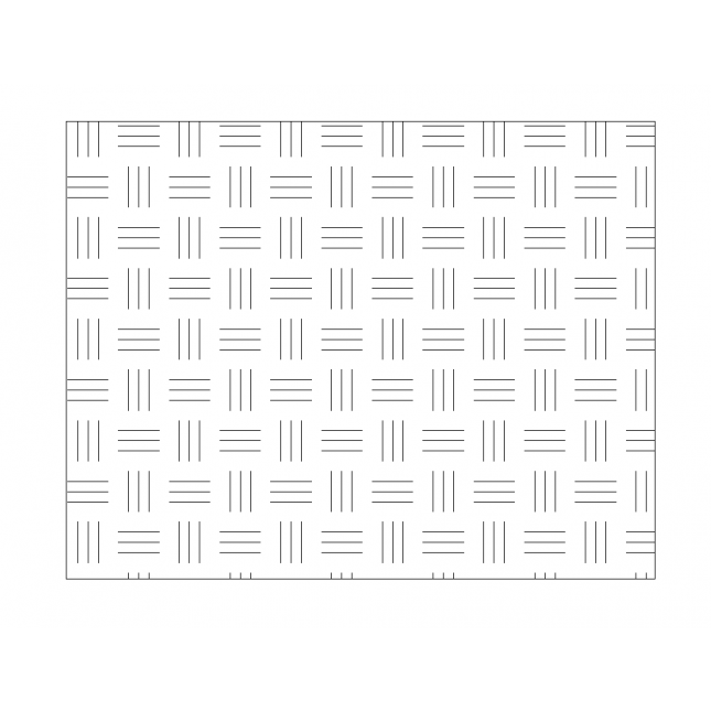 Checkered vector check pattern. D cad checkerplate