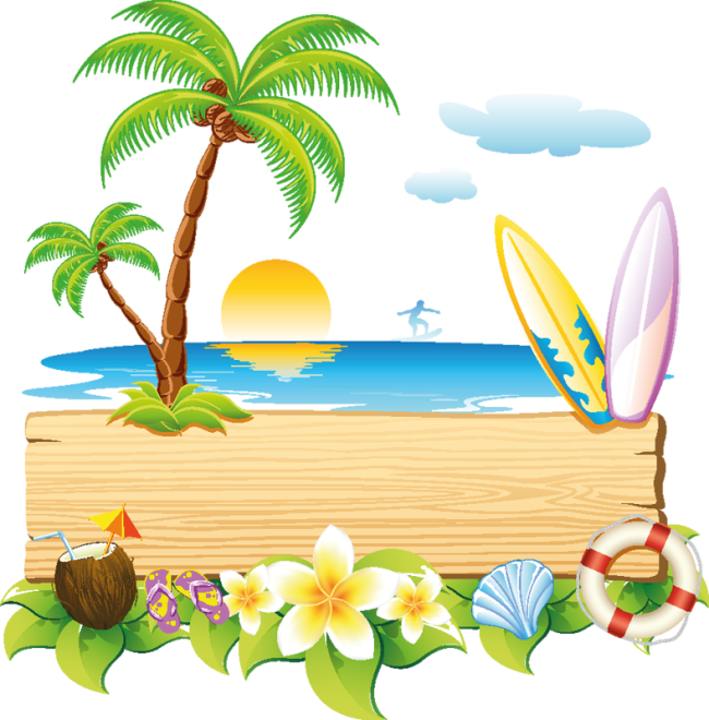 Vector stickers travel. Free eps file summer