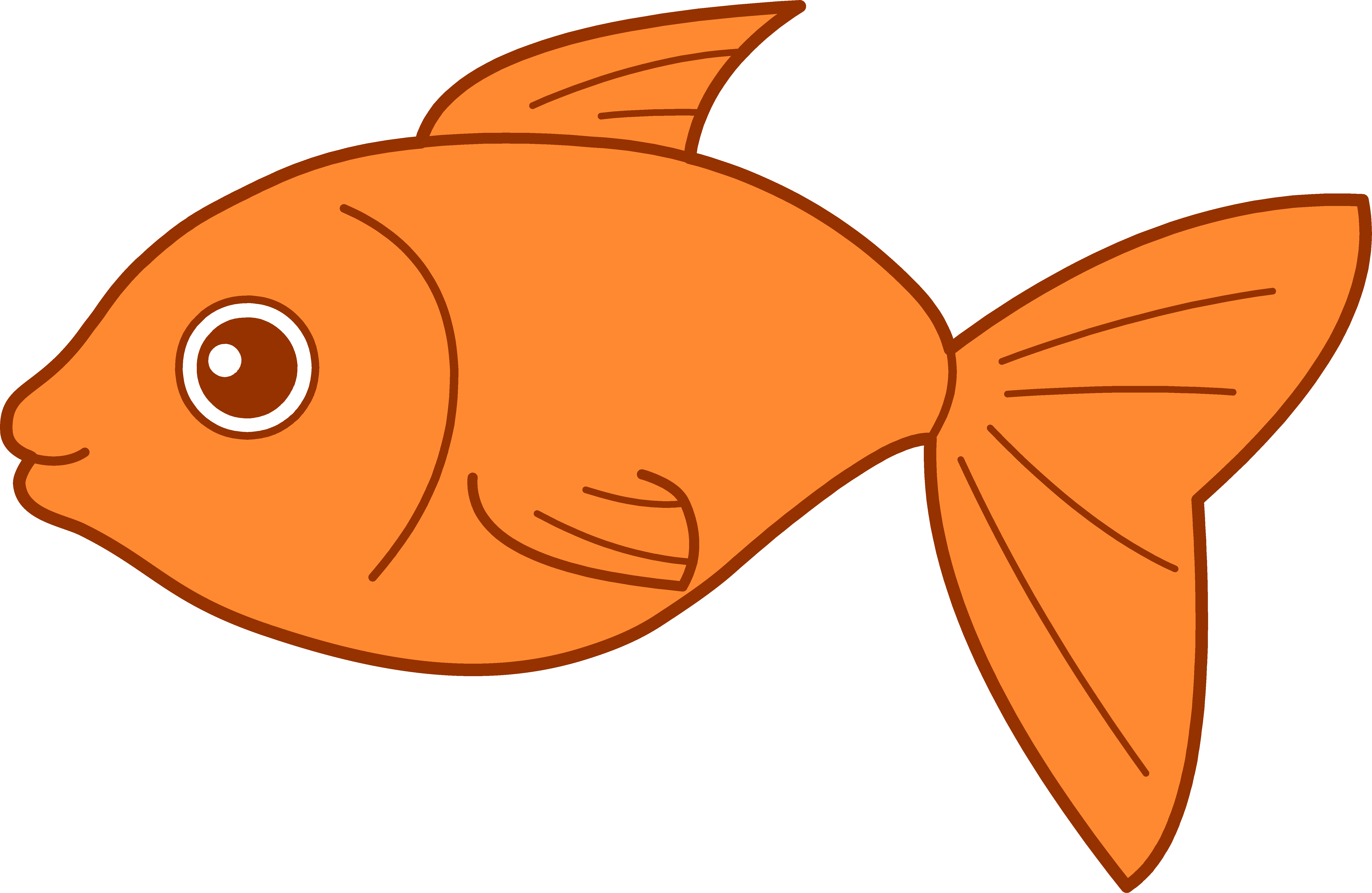Pictures of vector stock. Fish clip art svg library stock