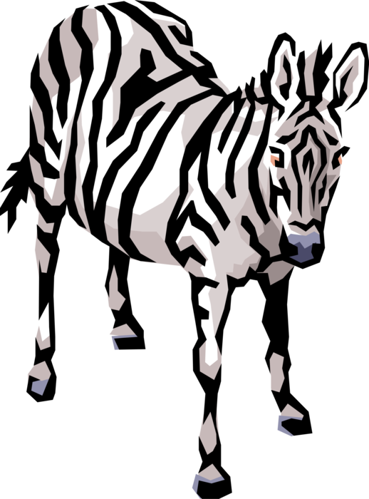 Zebra Stripe Transparent Clipart Free Download