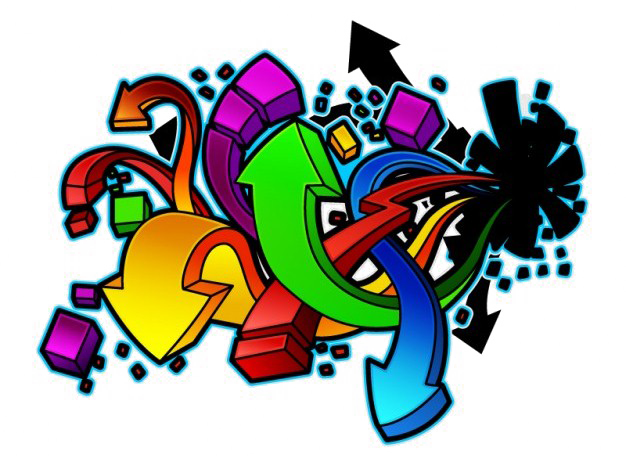 Vector style graffiti. Free png image peoplepng