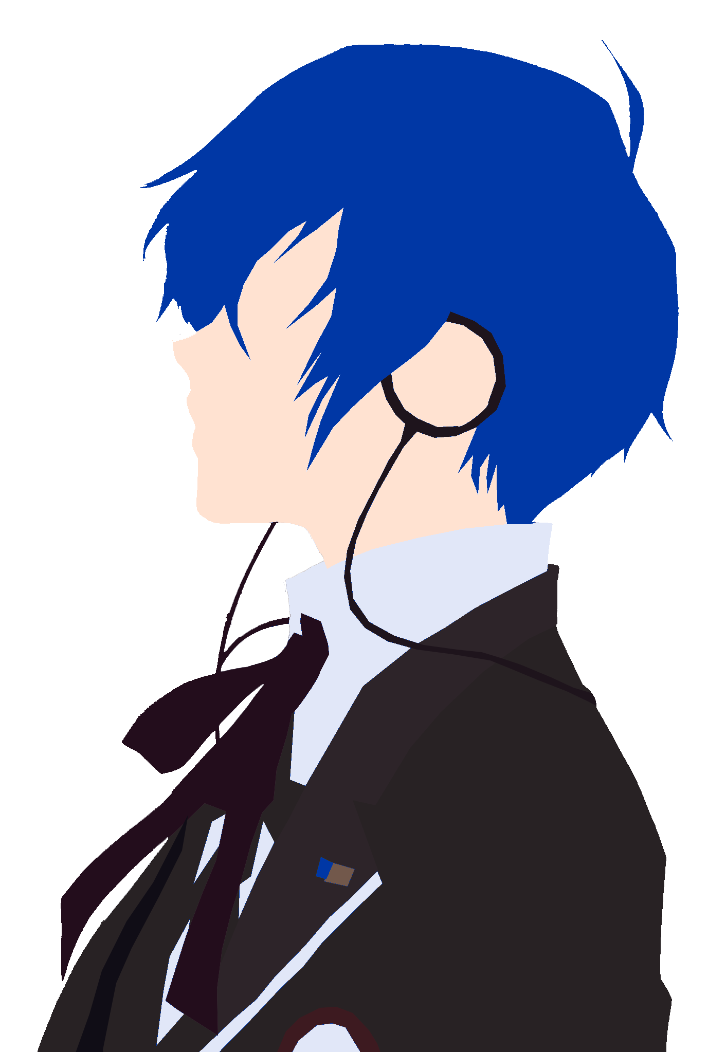 Vector style minimalist. Persona by ryouinferno on