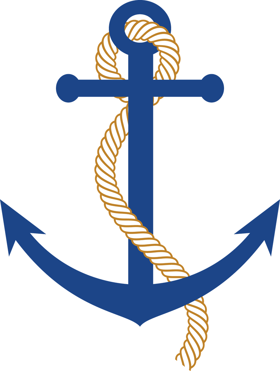 Vector style nautical banner. Minus say hello partys