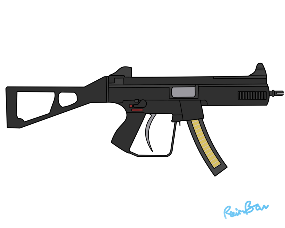 Vector submachine police. Foe sd mm tactical