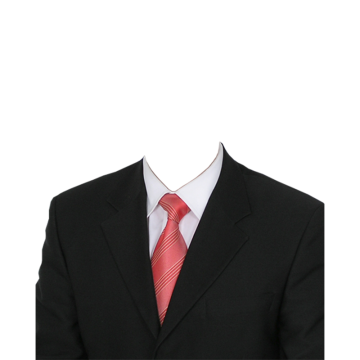 Vector suit abstract. Red tie png vectors