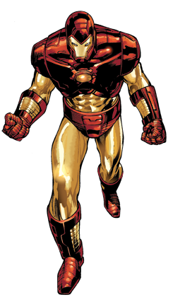 Vector suit modeling. The greatest iron man