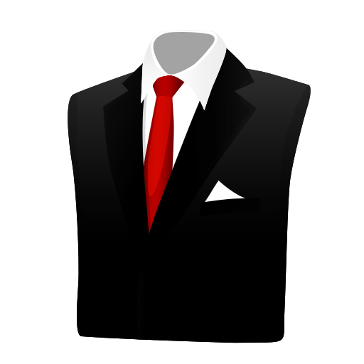 Vector suit corporate. Business icon myiconfinder clothes