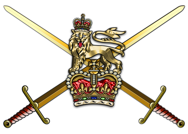 Military insignia d british. Vector swords army jpg free library