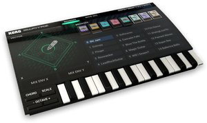 Vector synthesis. Korg gadget for mac