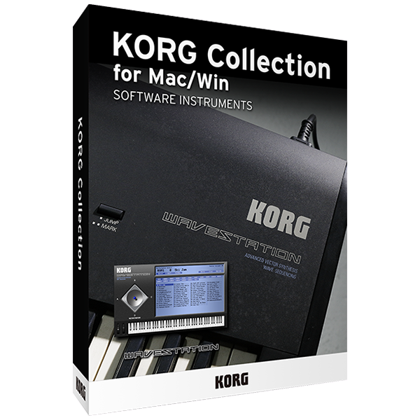 Vector synthesis. Lineup korg collection for
