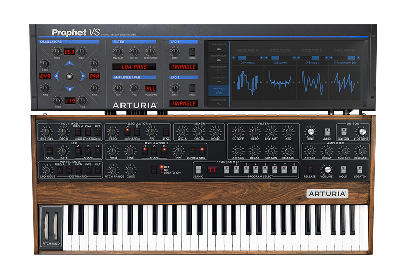 Vector synthesis yamaha. Arturia overview prophet v