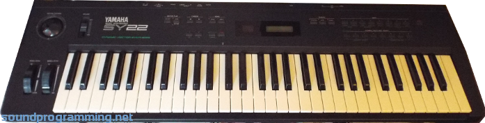 Vector synthesis yamaha. Sy sound programming the