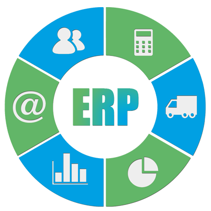 Vector system symbol. Free erp icon download