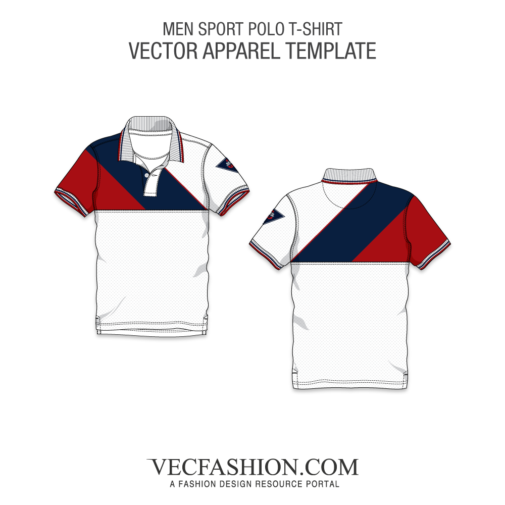 Vector t. Free download polo shirt
