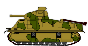 Vector tank army. Clip art sheet cakes