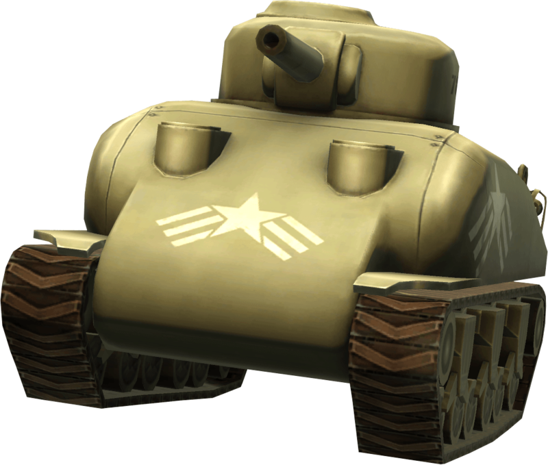 Vector tank sherman. Download free png image
